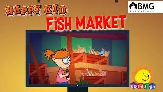 Happy Kid | Fish Market | Episode 145 | Kochu TV | Malayalam