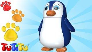 TuTiTu Zwierzęta w języku po polsku   Pingwin   I inne Zwierzęta