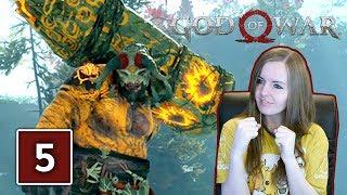 BRENNA DAUDI BOSS FIGHT | God Of War PS4 Gameplay Walkthrough Part 5 (God Of War 4)
