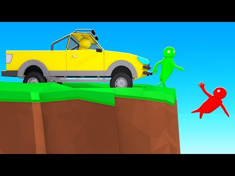 Driving Into My Friends At 300MPH! (Gang Beasts)