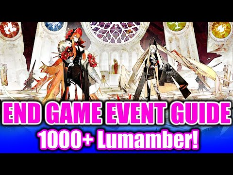 (Alchemy Stars) End Game Event Guide: Tips for Completion to Get All the Rewards! Over 1K Lumamber!  