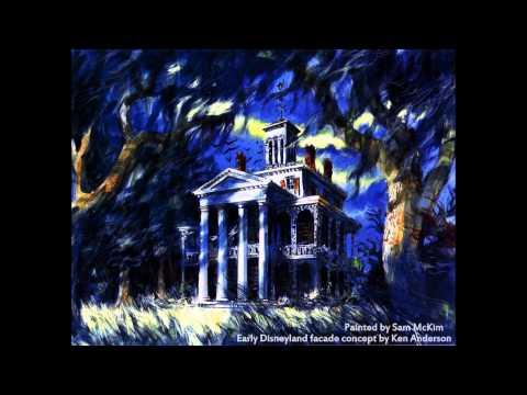 Haunted Mansion foyer organ extended loop