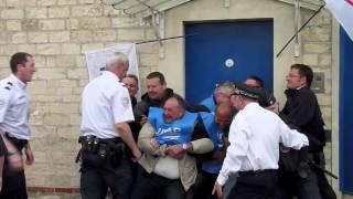 A la maison d'arrêt de Caen, les surveillants bloquent l'entrée