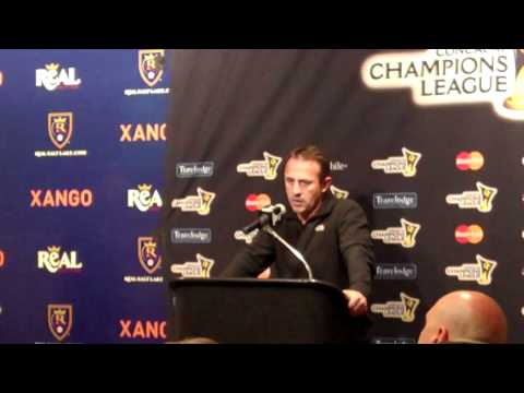 Robert Warzycha addresses media after 4-1 loss to Real Salt Lake