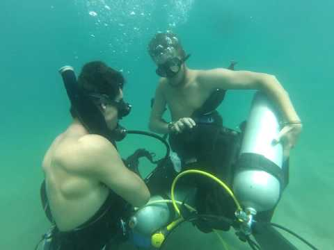Divemaster Equipment Exchange Test - Andrew & Ludo