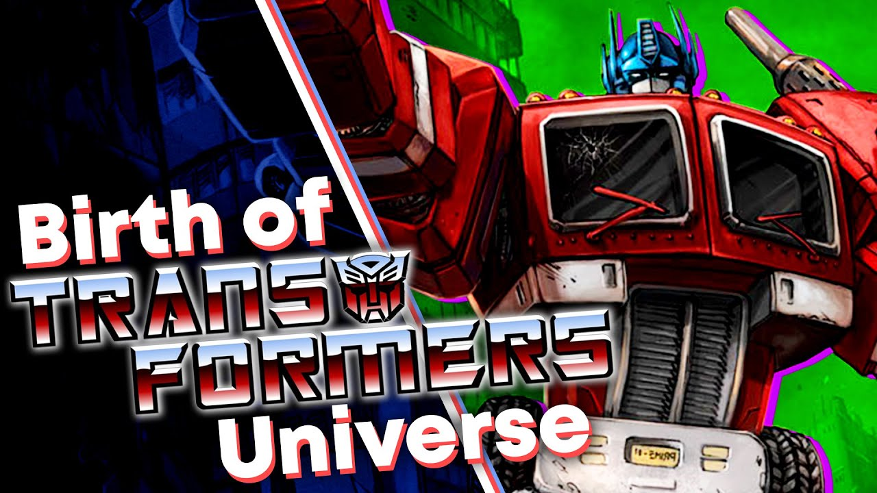 The Beginning of the Transformers Comic Universe