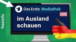 ARD Live Stream & Mediathek im Ausland online schauen (So gehts 2020)