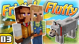 FRIGIEL & FLUFFY : Mes premiers habitants ! | Minecraft - S7 Ep.03