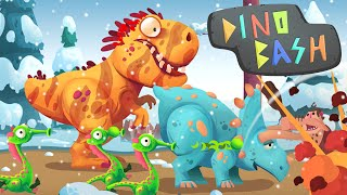 DINOSAUR ARMY! - Dino Bash - Ep1 HD