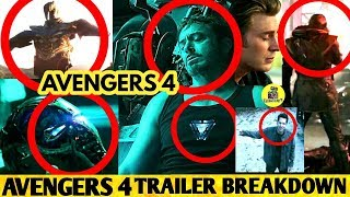 AVENGERS 4 End Game TRAILER BREAKDOWN | Avengers 4 Official Trailer | Trailer Breakdown Tamil