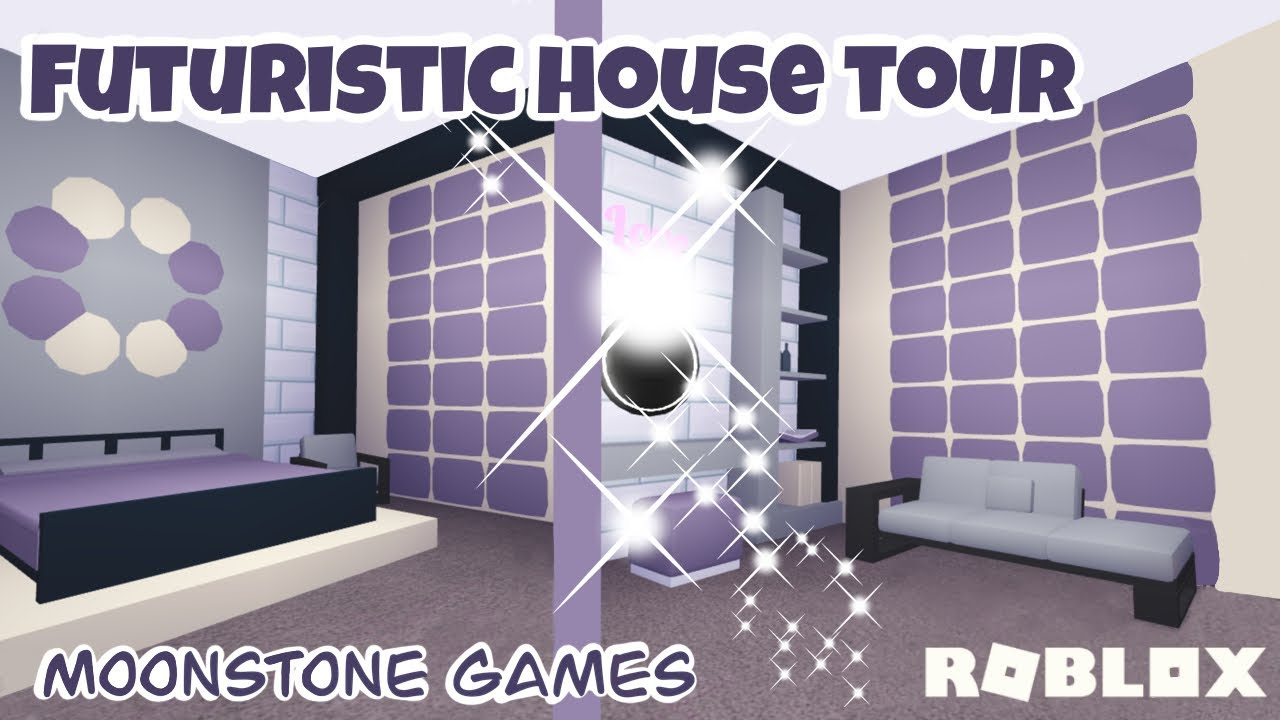 Adopt Me Futuristic House Tour Modern Cosy Futuristic House Roblox Aesthetic Home Youtube