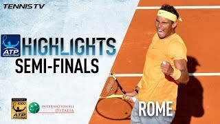 Highlights: Nadal, Zverev Set Final Showdown In Rome
