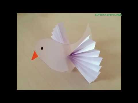 Paper Dove|| Craft Creativity ||
