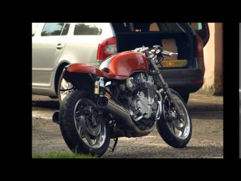 cb 750f2 sevenfifty caf racer chappement racing diy doovi. Black Bedroom Furniture Sets. Home Design Ideas