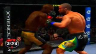 UFC Undisputed 2010 - PS3 - Meu pé na sua cara.