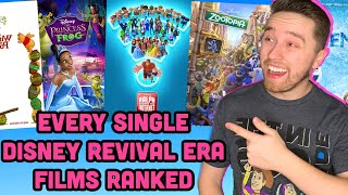 Every Single Disney Revival Era Film Ranked (2009-2018)