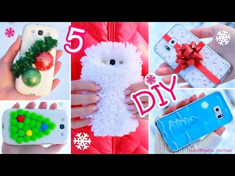 Thumbnail: 5 DIY Winter Phone Cases – How To Make Cute Phone Cases For Winter