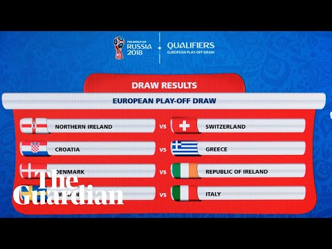 World Cup 2018 playoff draw in full