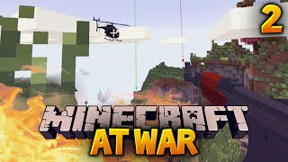 "MINECRAFT AT WAR SMP Ep. 2 - ""WERE UNDER ATTACK!!"" (Season 1)"