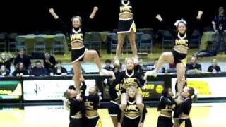 Hitch Pyramid and Blow out stunts WSC Cheer