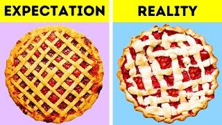 EXPECTATION VS REALITY || PASTRY IDEAS