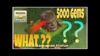 """Removing All Obstacles To Get Max Gems"" CLASH OF CLANS !! (50+)"