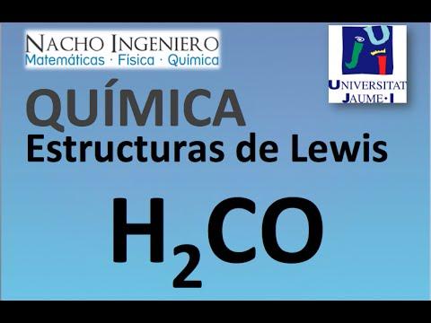 Estructura De Lewis H2co Ejemplo