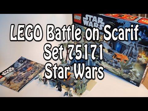 test:-lego-battle-on-scarif-(star-wars-set-75171-review-deutsch-in-4k)