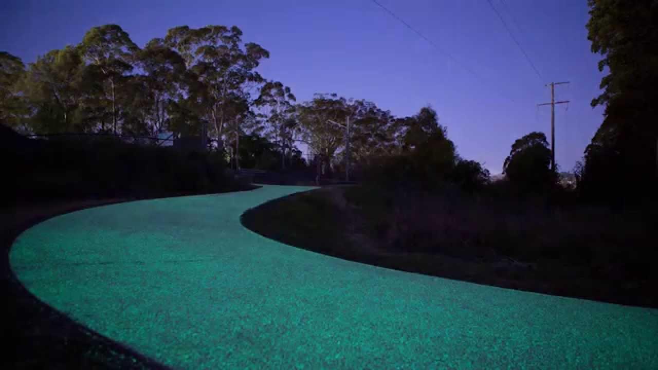 Gosford Glow Path Timelapse Youtube
