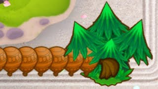 Can Wall Of Trees Actually Eat Up INFINITE Bloons? (Bloons TD 6)