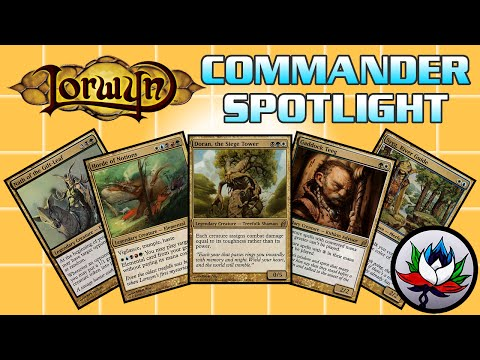 MTG – Lorwyn EDH/Commander Deck Tech Spotlight For Magic: The Gathering!