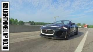 Jaguar F-type Project 7 at Lightning Lap 2016