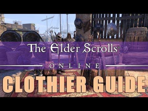 Elder Scrolls Online: Clothier Leveling Guide
