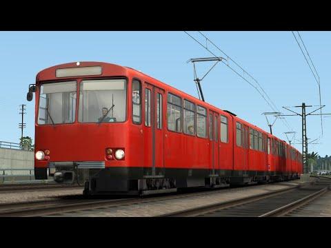 Train Simulator 2020 - San Diego Trolley - Siemens/Düwag U2 to Gaslamp Quarter |