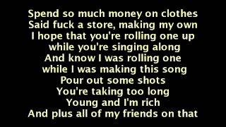 Wiz Khalifa Feat. The Weeknd - Remember You (Lyrics On Screen)