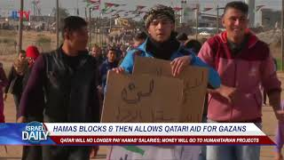 Hamas blocks & then allows Qatari aid for Gazans thumbnail
