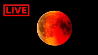 LIVE Lunar Eclipse today - Beautiful Real Video | 16-17 July 2019