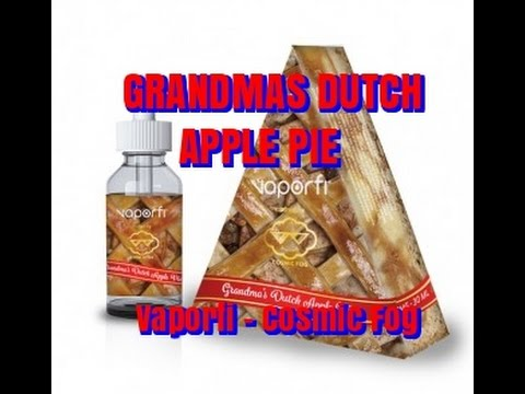 Grandma's Dutch Apple Pie from Vaporfi and Cosmic Fog