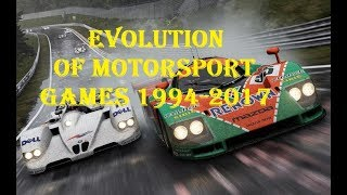 Evolution Need for Speed 1994-2017
