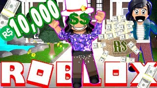 A STRANGER GAVE ME $10,000!!!! (Bloxburg | Roblox Roleplay)