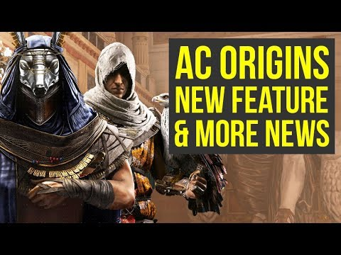 Assassin s Creed Origins NEW FEATURE REVEALED & More News (AC Origins - Assassins Creed origins)