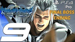 Kingdom Hearts Dream Drop Distance HD - Gameplay Walkthrough Part 9 - Final Boss & Ending (PS4 PRO)
