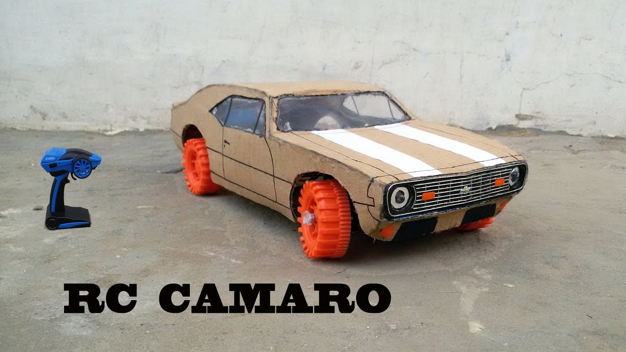 wow super rc camaro diy at home chevrolet camaro 1969 how to make electric toy car. Black Bedroom Furniture Sets. Home Design Ideas