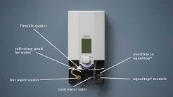 All New Siemens Water Heater - AquaStop