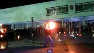 Выпускной в Ульяновске 2012, фаер-шоу.