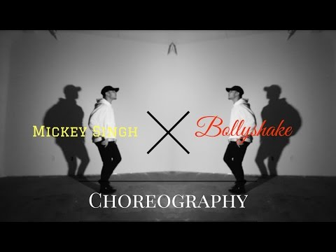 Phone - Mickey Singh X Bollyshake (Choreography Video)