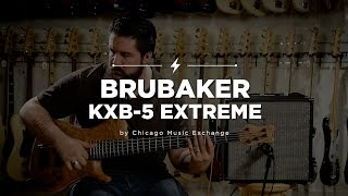 Quick Riffs: 2006 Brubaker KXB-5 Extreme Natural Bass Guitar