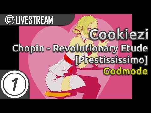 Cookiezi going GOD MODE on Chopin - Revolutionary Etude [Prestississimo] 8.94* | Livestream w/ chat!