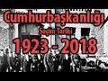 Cumhurbaşkanlığı Seçim Tarihi 1923 - 2018 - Turkey's ...