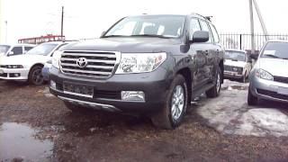 2008 Toyota Land Cruiser 200.Start Up, Engine, and In Depth Tour.